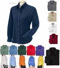 WOMEN'S WRINKLE & STAIN RESISTANT, TWILL, LONG SLEEVE SHIRT, S M L XL 2X 3X