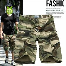 New Casual Men's Cargo Shorts Bermuda Fashion Comfort Camouflage Cargo Pants