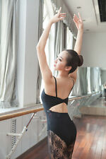 New Adult Ladies Ballet Camisole Leotards Gymnastics Dance Dress SZ M/L/XL/XXL