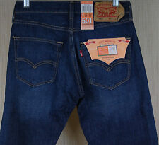 New Levis Mens 501 Original Buttonfly Straight Leg Fit Jeans Shockwave 1690