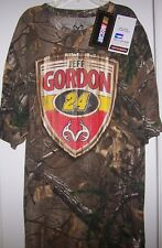 JEFF GORDON #24 REELTREE & OFFICIAL NASCAR CAMOUFLAGE T-SHIRT NEW WITH TAGS