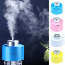 New USB Portable Mini Humidifier Air Diffuser Aroma Mist Maker Water Bottle Caps