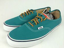 VANS. AUTHENTIC Men's or Women GREEN Canvas Shoes Mens US 10 10.5 11 11.5 12 13