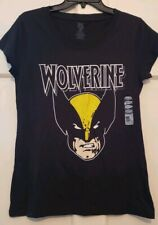Womans Wolverine Top Marvel Comic Screen Print Soft Capped Sleeve NWT M L XL 2XL