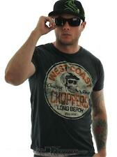 West Coast Choppers Mineral Black Cheating Death T-Shirt