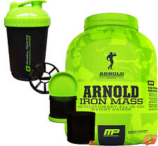 MP MUSCLEPHARM ARNOLD SCHWARZENEGGER IRON MASS WEIGHT GAINER ALL-IN-ONE 5LB