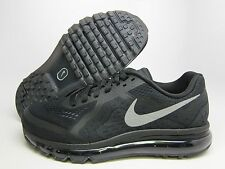 NEW MENS NIKE AIR MAX 2014 RUNNING [621077-001]  BLACK//REFL SILVER-ANTHRACITE