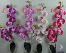 3/5/12 branches Artificial Phalaenopsis Orchid Silk Flower Stem WEDDING Home