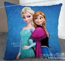 Disney Frozen Queen Elsa Olaf Anna Sven pillowcase Pattern + Pillow (Two Side)