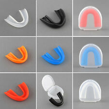 Adult Mouthguard Mouth Guard Oral Grinding Teeth Protect For Boxing 5 Colors