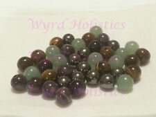8mm (1mm hole) Various Natural Crysal Gemsone Beads - Round or Facetted
