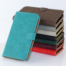 Leather Flip Magnetic Pouch Wallet For Samsung Galaxy Note 2 II N7100 Case Cover