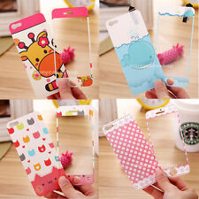 Cute flower Bow animal Screen Film Protector for Apple iphone 5s 5G 4s 4 STICKER