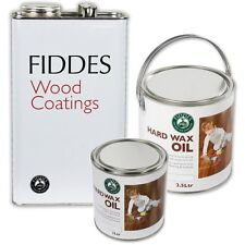 Fiddes Hard Wax Oil Clear Matt For Interior Wooden Floors/Doors/Furniture/Toys