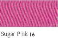 SUGAR PINK 16  FULL ROLL - Berisfords Double Satin Ribbon - Choose from 8 widths