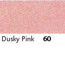 DUSTY PINK  : FULL ROLL - Berisfords Double Satin Ribbon - Choose from 8 widths