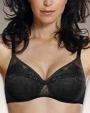 Playtex Tonique Contour Overlaid Lace 4640 Bra in Black or Beige RRP £33