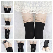 New Hot Pattern Jacquard Leggings Tattoo Socks Sexy Pantyhose Tights Stocking 15