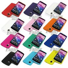 Rubber pure soft Gel Silicone Skin Case Cover for Google Nexus 5 ,LG D820