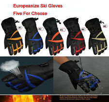 Snowboard Ski Gloves Snowmobile Snow Motorcycle Riding Sports Waterproof Gloves