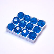Capri Blue (243) Swarovski Elements 5000 Crystal Round Beads 4mm 6mm 8mm