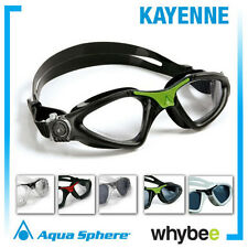AQUA SPHERE KAYENNE MENS SWIMMING GOGGLES - SWIM GOGGLES Red Green White Black