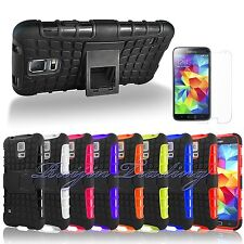Hybrid Grenade Hard Case Rugged Cover Stand For Samsung Galaxy S5 SV
