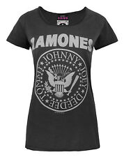 Official Womens Ramones T Shirt by Amplified Clothing