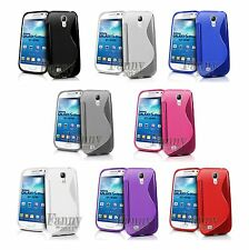 TPU Silicone Rubber Gel Skin Case Cover for Samsung Galaxy S4 Mini, i9190, i9192