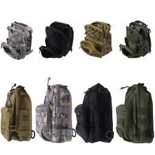 Casual Military Tactical Sport Hiking Trekking Backpack Shoulder Chest Bag Pouch