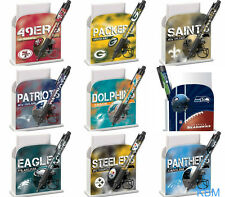 *NFL* STATIONARY DESK CADDY & Pen Set- Licensed NEW- Choose your Favorite Team