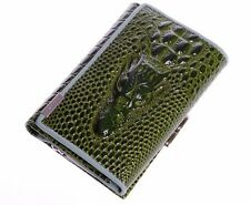 Crocodile Women Wallet Genuine Leather Hasp Short Style Lady Pocket Coin Purse