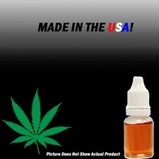 Cannabis E-Juice Liquid 10ml NO Nicotine and THC ***10 DIFFERENT FLAVORS***