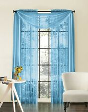 Sheer Curtain Window Treatments Scarves