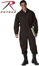 BLACK  Military Style Flight Suit Air Force Style Fighter Flight Coveralls 7502