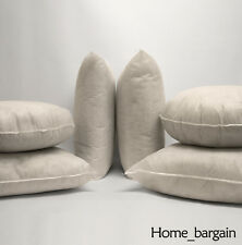 Standard or Extra Filled Cushion Cover Fillers Pads Inners Feather/Hollowfibre