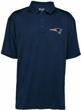 New England Patriots Embroidered Navy Blue Polo Golf Shirt