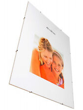 Clip Frames Frameless Photo Picture Large Sizes A1,A2,A3,A4 + sizes in inch