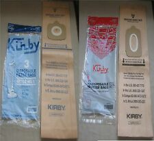 Genuine Kirby Vac Style 1 Tradition & Style 2 Heritage I Vacuum Cleaner Bags OEM