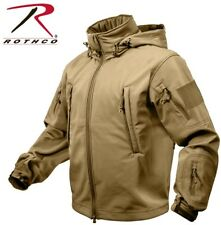 NEW (COYOTE BROWN)Special OPS Tactical Soft Shell Jacket w/Waterproof Shell 9867