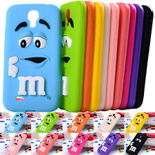 For Samsung Galaxy S4 I9500 Cute Cartoon Soft Silicone Rubber Skin Case Cover