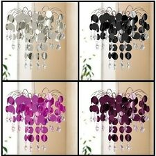 32cm Chandelier Chic Ceiling Pendant Light Shade Crystal Droplet Light Fittings