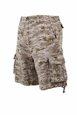 SHORTS CARGO BDU VINTAGE Desert Digital CAMOUFLAGE SIZES XS,S,M,L,XL,2X,3X