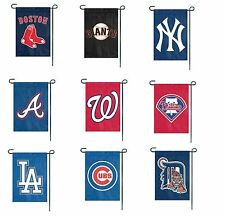 """MLB Teams Embroidered Garden/Window Flags 15"""" x 10.5"""""""