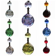 Chandelier Glass Crystal Lamp Prisms Part Hang Drop Pendants Wedding Decor 2.9''