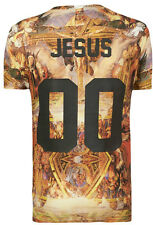 Tee Shirt Eleven Paris Homme **Back numbers** JESUS NUMERO 00 Life is a joke