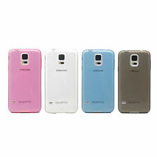 0.3mm Ultra Thin Slim Soft TPU Clear Case Cover For Samsung Galaxy S5 SV I9600