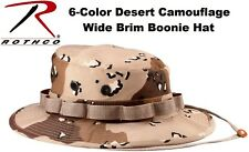 Desert Camouflage Military Tactical Wide Brim Bucket Hunting Boonie Hat 5814