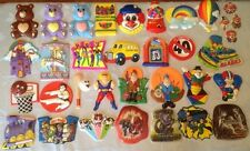 Assorted Vintage Bakery Crafts Pop Tops Cake Toppers Decorations