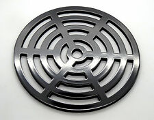 """9"""" Round Metal steel Gully Grid Heavy Duty Drain Cover like cast iron strength"""